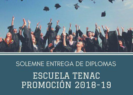 SOLEMNE ENTREGA DE DIPLOMAS PROMOCIÓN 2018-2019.