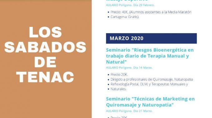 """ARRANCA UNA NUEVA ACTIVIDAD EN NUESTRA ESCUELA. SON LOS """"SÁBADOS DE TENAC""""."""